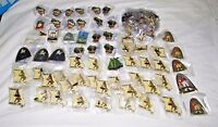HUGE Vintage Lot Of Various Lions Club Pins Collector Pins LOT 07 100 Pins