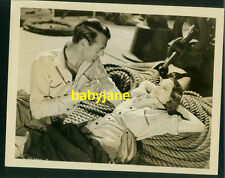 GARY COOPER MERLE OBERON VINTAGE 8X10 PHOTO 1938 THE COWBOY AND THE LADY