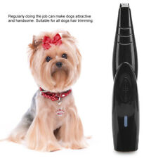Rechargeable Electric Pet Grooming Hair Trimmer Pet Dog Feet Clippers Shaver Kit