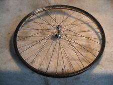 alte Fahrrad Felge Rad vorn Nabe mit Wanderer Logo 26 Zoll O-Lack