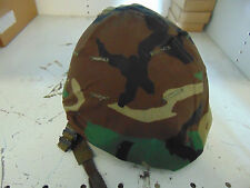 woodland M-1 helmet cover steel pot NOS BDU camo pattern military issue 1980s