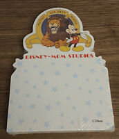 Vintage Disney MGM Studios Notepad Walt Disney World 1989 New Rare Mickey Mouse