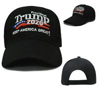 GOP-Donald Trump 2020 Keep Make America Great Again Cap Embroidered Hat Black