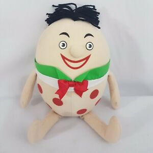 Humpty Playschool 2004 ABC Character Plush Soft Toy 25cm Sitting Collectable