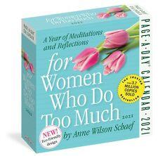 FOR WOMEN WHO DO TOO MUCH - 2021 DAILY DESK CALENDAR - BRAND NEW - 100963