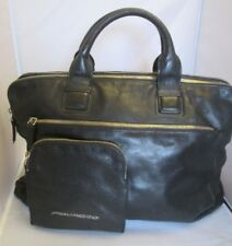 Authentique  SAC CARTABLE - PIQUADRO  - cuir  bag /
