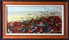 "Maya Eventov  ""Untitled"" Original Acrylic on Canvas, H.Signed ME070910-07"