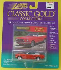 Johnny Lightning Classic Gold Collection 1965 Red Ford Mustang Limited Edition