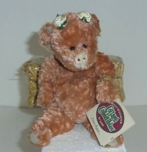 """Pitter Patter 9"""" ret Ganz Cottage Collectibles wobble jointed Pig MWMT  CC099"""