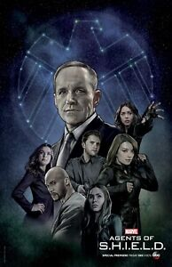 Agents Of Shield poster (f) -  11 x 17 inches