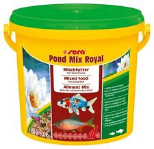 sera Pond Mix Royal 600g Staple Food for Ponds With Different Fish 7 Gammarus