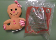 BUILD-A-BEAR MCDONALD'S 2013 Sweet Gingerbread Girl #6 Happy Meal Collectible