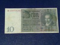 GERMANY - 10 MARK 1929 -  VERY FINE/3/