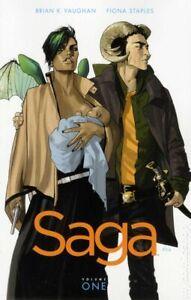 Saga TPB #1-1ST FN 2012 Stock Image