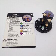 Heroclix X-Men Xavier's School set Phat #048 Rare figure w/card!