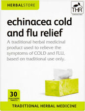 HERBALSTORE ECHINACEA COLD AND FLU RELIEF EXPIRY 08/20 1ST CLASS P&P