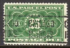 Sc# JQ-5 25 Cent Parcel Post Postage  Due (1913) Used Single SCV $4.50