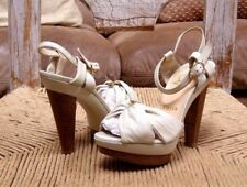 Christian Louboutin Leather Platform Strappy Sandals Size 35.5 EU /5.5
