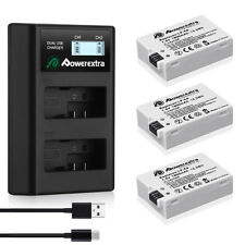 LP-E8 Battery Pack & LCD USB Charger For Canon Rebel T3i T5i T2i T4i EOS 550D