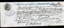 """BEAUVAIS (60) FOURNITURE ou INGREDIENT pour FABRIQUE de VINAIGRE """"DANGU"""" en 1884"""