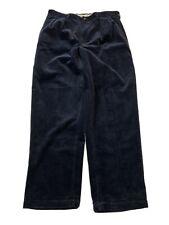 Polo Ralph Lauren Blue Classic Fit men's Corduroy Pants sz 35x30 Navy Dark