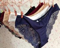 Fashion Women Soft Lace Panties Sexy Lingerie Bikini Underwear Briefs Knickers