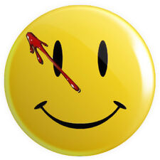 Watchmen Smiley Smily Face BUTTON PIN BADGE 25mm 1 INCH DC Comics