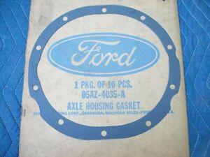 "Genuine OEM Ford Differential Rear End Cover Gasket 9"" 10 bolt D5AZ-4035-A"