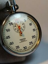 Presta Super Shockresistant Swiss Made Vintage Stopwatch