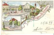 "AK-Steiermark-""Gruss aus St. Oswald ob Eibiswald"" 21.12. 1897"