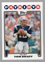 2008 Topps Tom Brady MVP #328 Mint
