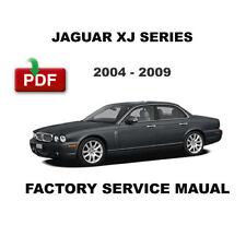 JAGUAR XJ XJ6 XJ8 X350 X358 2005 - 2009 WERKSTATTHANDBUCH REPARATURANLEITUNG pdf