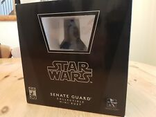 STAR WARS GENTLE GIANT MINI BUST SENATE GUARD COLLECTIBLE 00545/10000