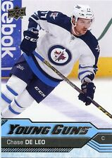 16/17 UPPER DECK YOUNG GUNS ROOKIE RC #485 CHASE DE LEO JETS *29510