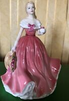 ROYAL DOULTON LADY ROSIE MODEL No. HN 4094 PINK DRESS PERFECT