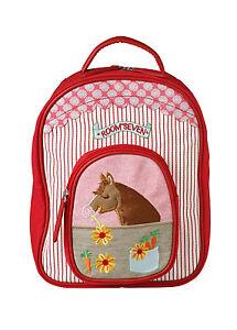 Room Seven Rucksack Kindergartenrucksack horse embroidery SO 15 NEU UVP 79,90 €