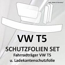 Schutzfolie set Fahrradträger Radträger Heckträger u. Ladekante VW Bus Bully T5