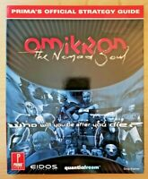Omikron: The Nomad Soul official strategy guide (PC, QuanticDream, Eidos, Prima)