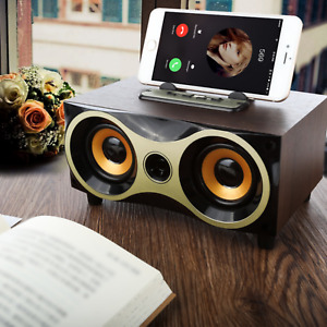 Bluetooth Stereo Dual-Lautsprecher Subwoofer FM-Karte Aux Musikbox MP3 USB SD DE