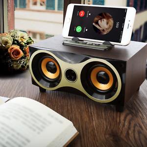 Bluetooth Stereo Dual-Lautsprecher Subwoofer FM-Karte Aux Musikbox MP3 USB SD DE