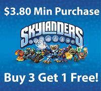 Skylanders Spyro Giants Trap Team Swap Force - Buy 3 Get 1 Free! - U Pick Lot