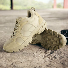 Men Army Military Tactical Work Boots Outdoor Desert Leather Combat SWAT Shoes