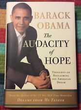 President Barack Obama Auto Autographed Signed Rare Book The Audacity of Hope #1