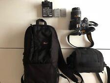 Nikon D5300 DSLR Camera Kit with Af-p 18-55mm VR Lens - Black
