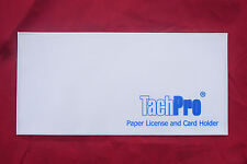 Tachpro Tachograph Tachodisc Paper License and Card Holder