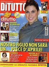 Di Tutto New.Melissa Satta,Monica Bellucci,Gabriel Garko,Giorgia Todrani,kkk