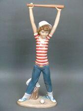 Lladro Figur Mädchen mit Baseballschläger Salvador Debon Figure Figurine um 1985
