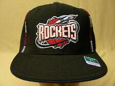 HOUSTON ROCKETS - NBA - REEBOK - FITTED SIZE 7 1/4 - 100% WOOL BALL CAP HAT!