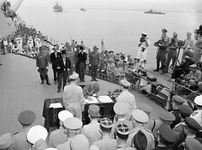 WWII PHOTO JAPANESE SURRENDER USS Missouri WW2 Photo World War Two Japan US Navy