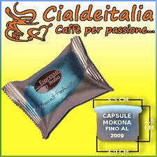 30 capsule caffè ESPRESSO ITALIA  DEKA per MOKONA e TAZZONA BIALETTI